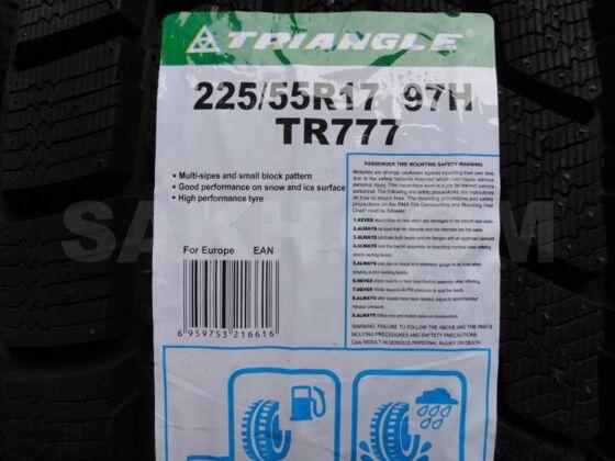 Новые зимние шины 225/55R17