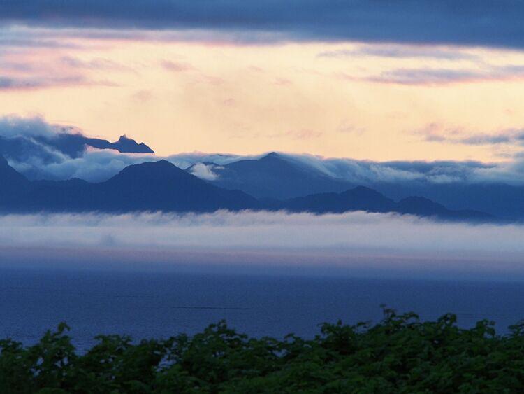 Вид нанациональный парк Сиретоко (Япония) сострова Кунашир. Автор фото Сергей Шанин