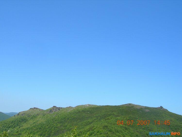 Видна массив горы Луги
