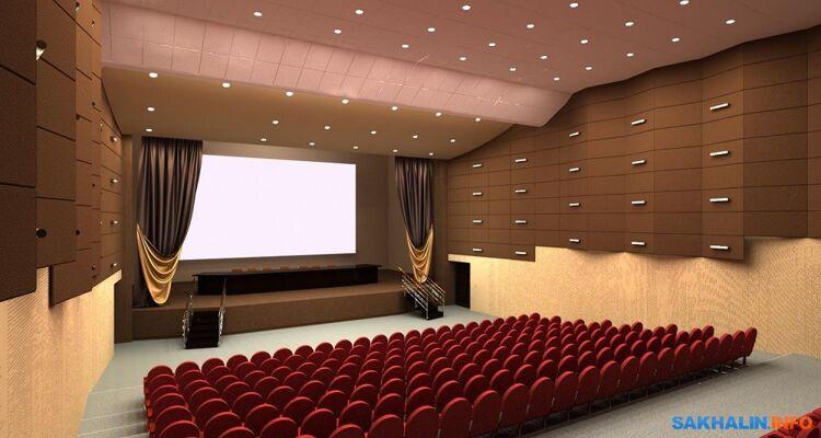 Дизайн-проект акустической отделки зала изтехнической документации каукциону