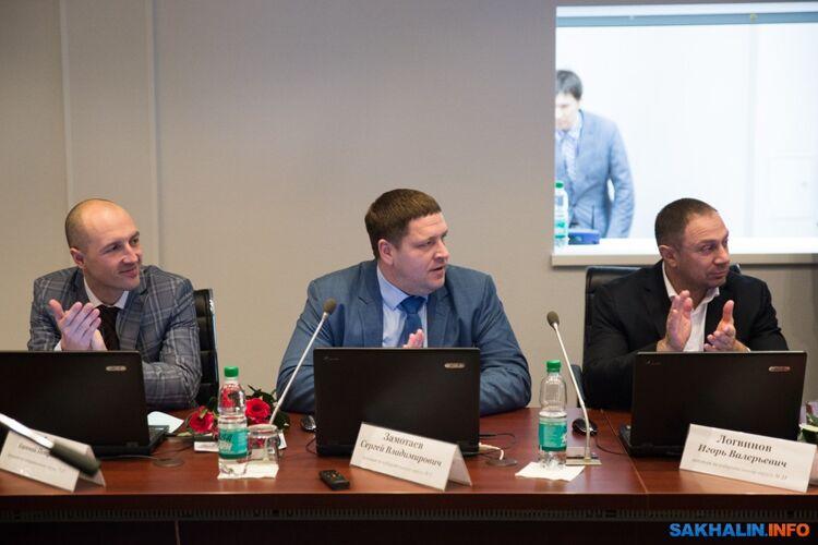 Евгений Любый, Сергей Замотаев, Игорь Логвинов
