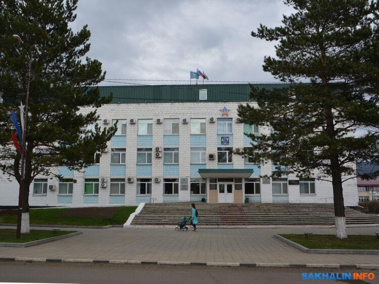Здание администрации Тымовского
