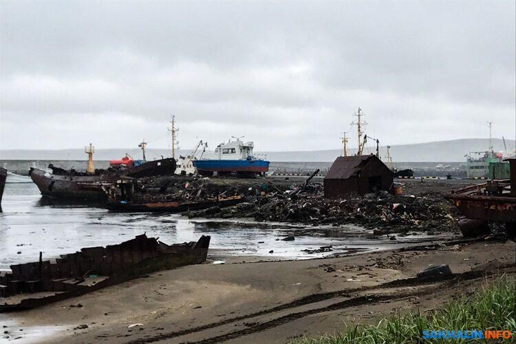 Оживший после разрушительных 90-х порт вСеверо-Курильске