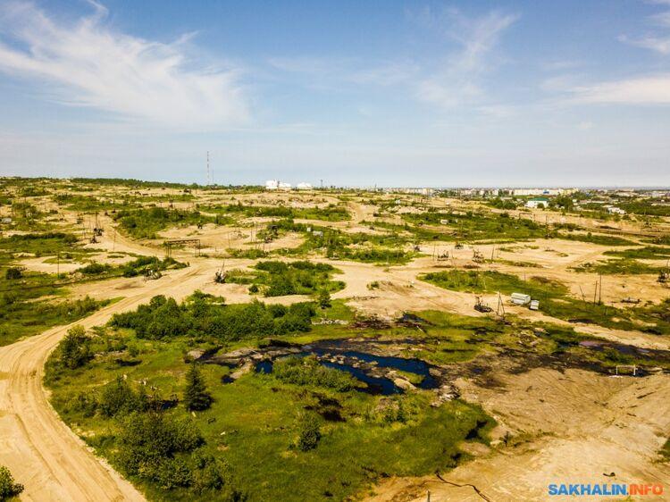 """Месторождение """"Центральная Оха"""", скоторого началась нефтяная история Сахалина"""