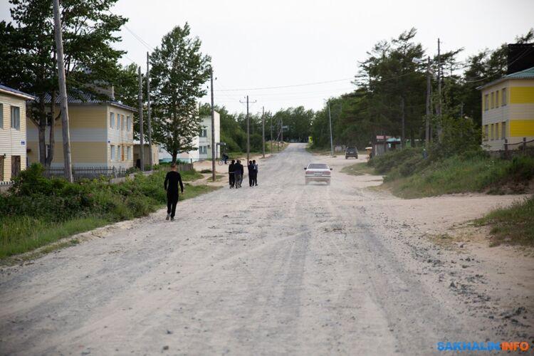 Центральная улица вНекрасовке (июль 2018)