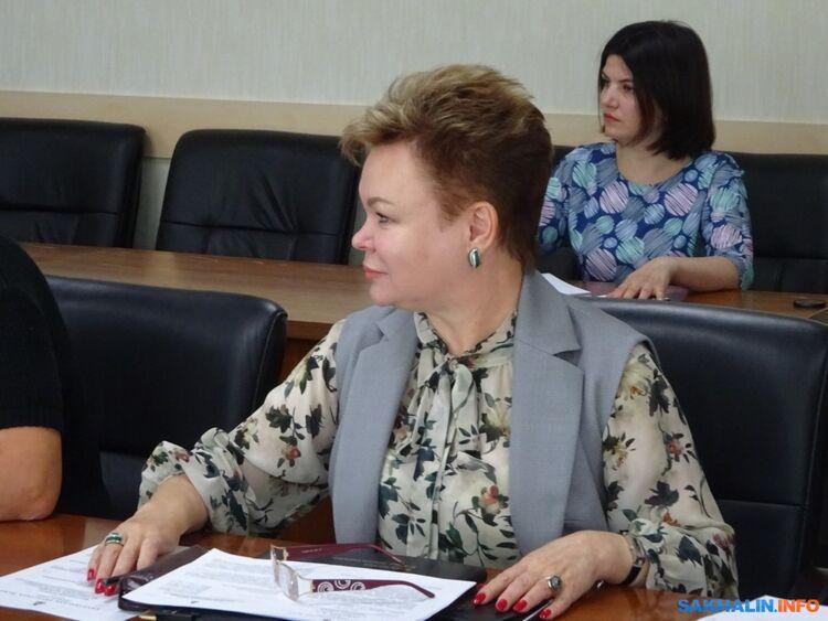 Министр социальной защиты Сахалинской области Елена Касьянова
