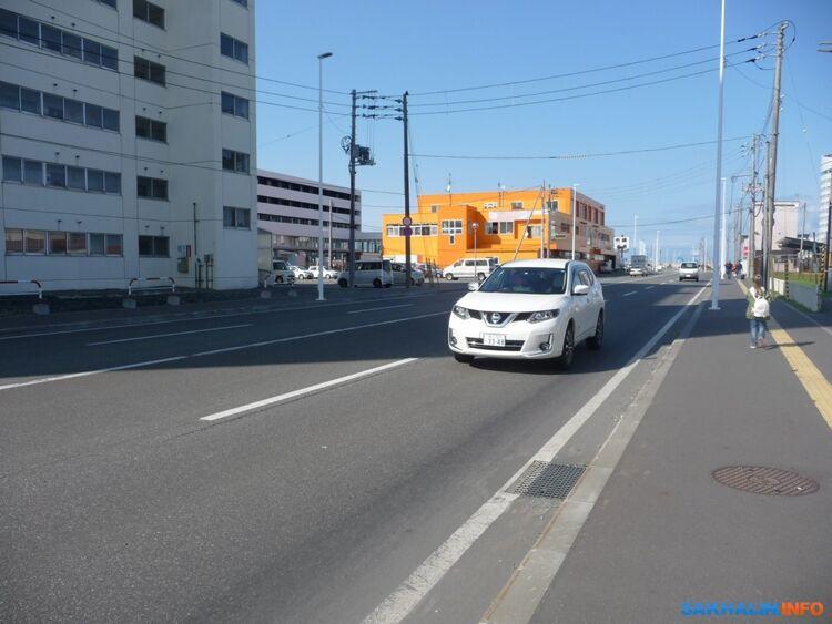 На улицах Вакканая чисто ипустынно