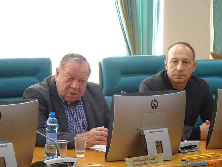 Виталий Гомилевский иИгорь Осипенко