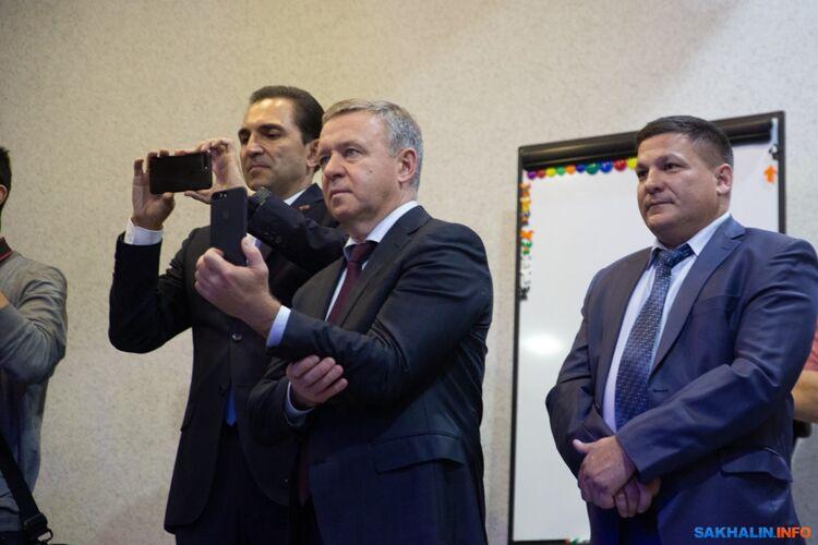 Андрей Хапочкин, Сергей Надсадин, Дмитрий Третьяков