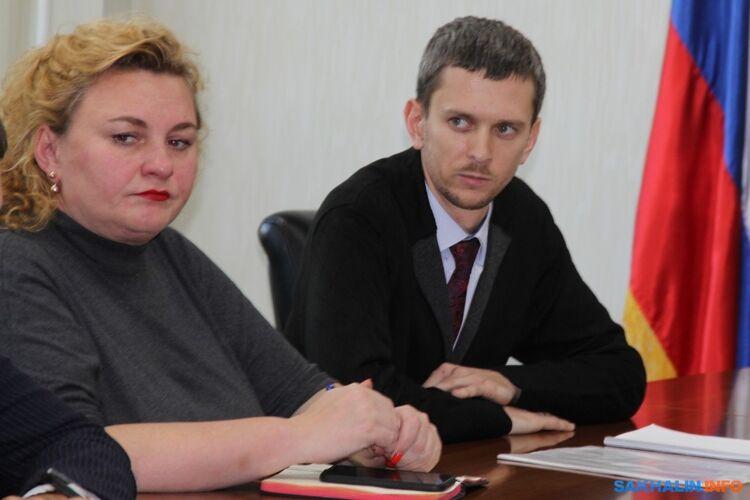 Елена Демина иМаксим Старовойт