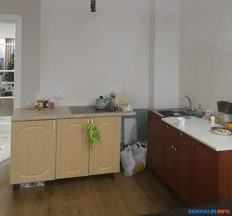 Временная кухня Анны