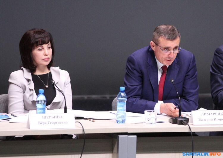 Председатель ПСОВера Щербина иврио губернатора Валерий Лимаренко