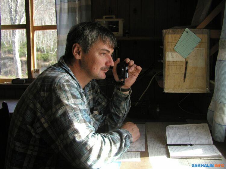 Вашакидзе Павел Семенович вовремя передачи сводки