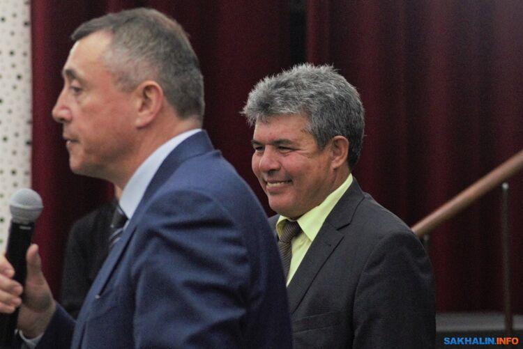 Андрей Худорбаев (справа)