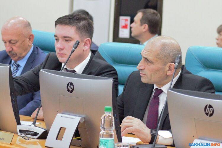 Александр Шарифулин иСаркис Акопян