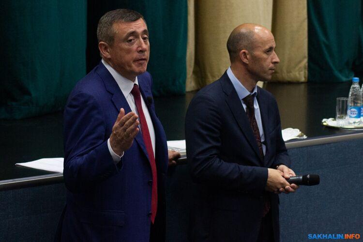 Валерий Лимаренко иАлександр Тугарев
