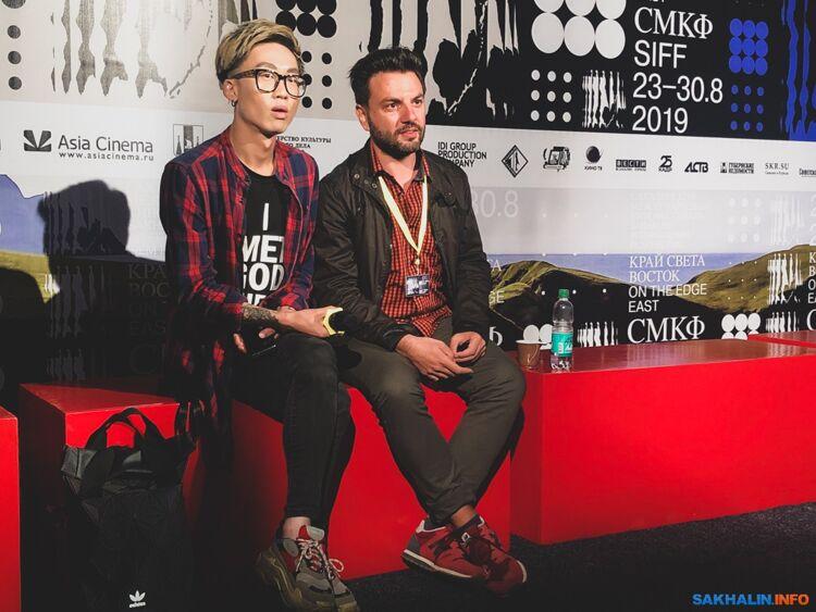 Петар Вылчанов (справа)