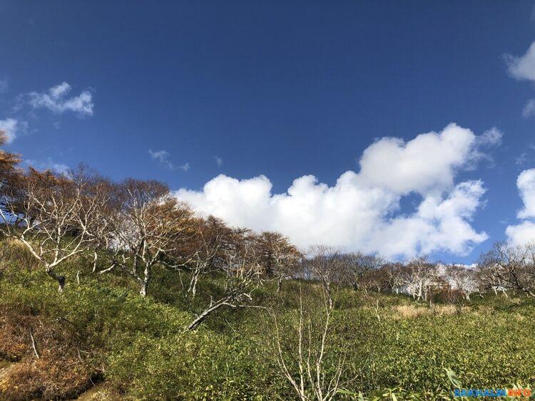 В горах ужеснег, ужене растает