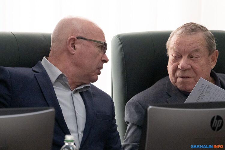 Александр Кобелев иВиталий Гомилевский