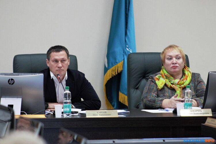 Олег Саитов иНаталья Захарчук