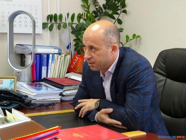 Мэр Долинского района Александр Тугарев