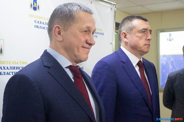 Юрий Трутнев иВалерий Лимаренко