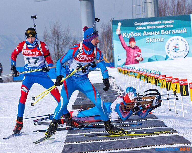 Четыре золота завоевали сахалинцы на всероссийских соревнованиях юных биатлонистов