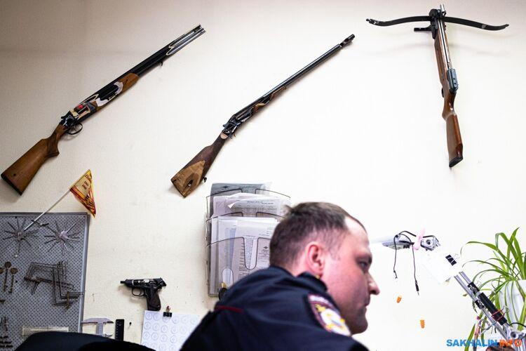Коллекция оружия