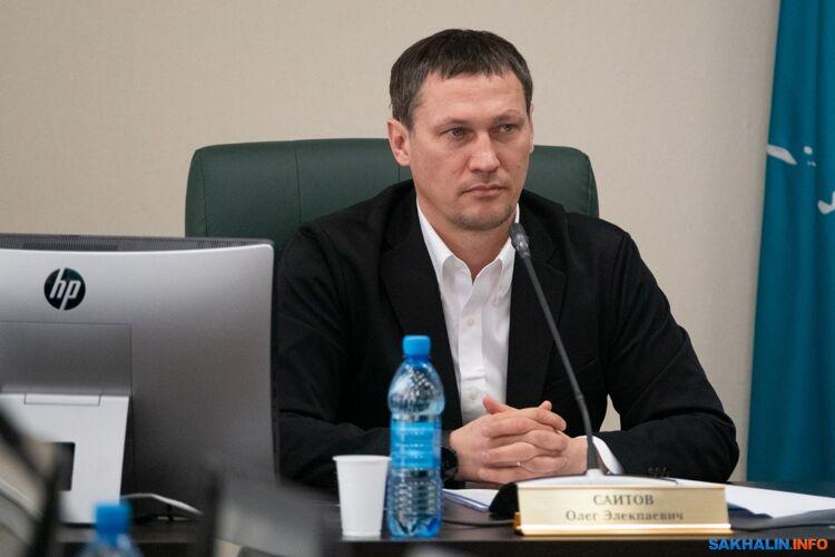 Глава комитета облдумы поспорту, туризму имолодежной политике Олег Саитов