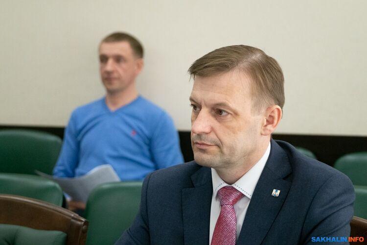 Министр спорта Сергей Буренков
