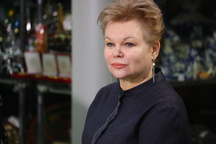 Министр соцзащиты Елена Касьянова, фото изтелеграм-канала Валерия Лимаренко