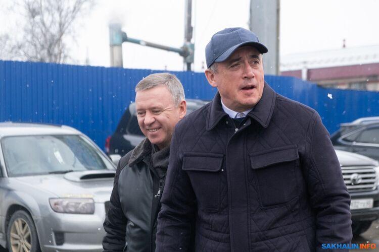 Сергей Надсадин иВалерий Лимаренко
