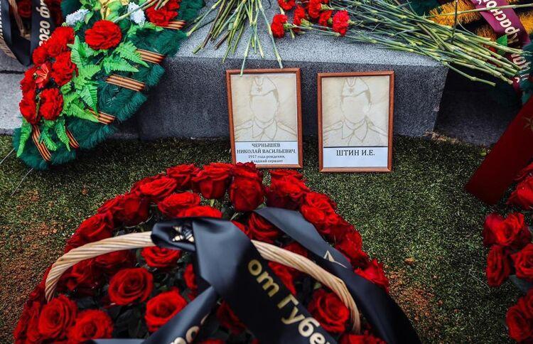 Сегодня в селе Победино предали земле останки воинов-освободителей Южного Сахалина