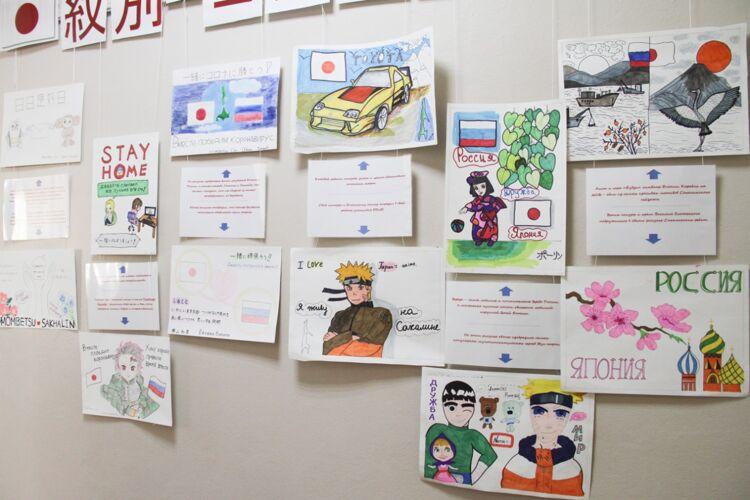 Японские школьники поддержали сахалинский город Корсаков в борьбе с пандемией