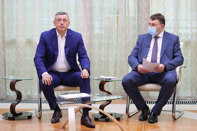 Валерий Лимаренко иВладимир Ющук. Фото пресс-службы ПСО