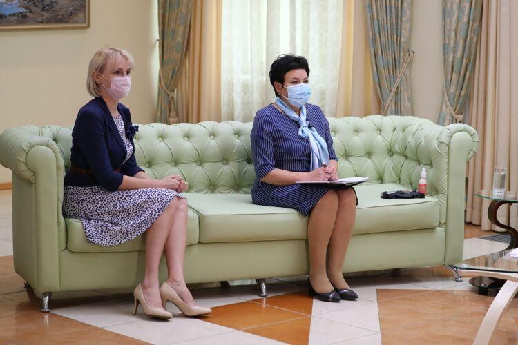 Анна Михеева (слева). Фото пресс-службы ПСО