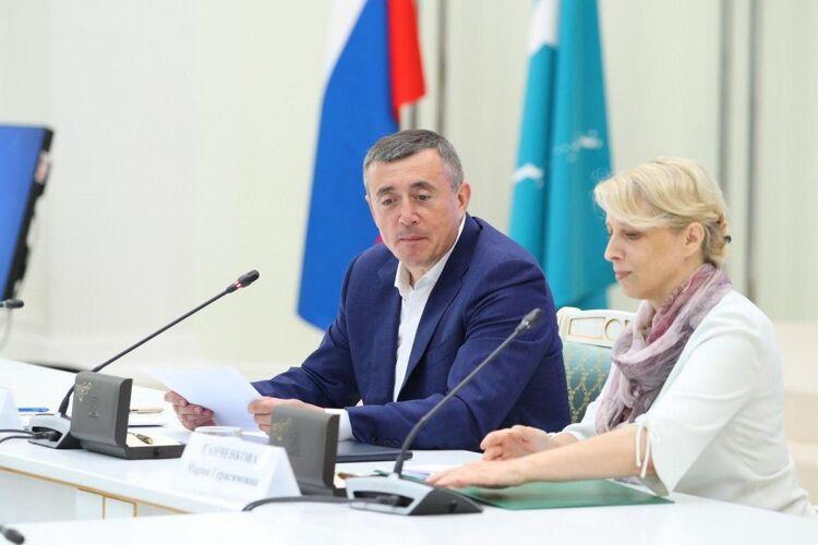 Валерий Лимаренко иМария Ганченкова, фото пресс-службы ПСО