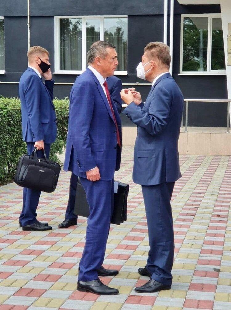 Валерий Лимаренко иАлексей Миллер