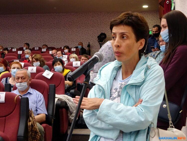 Жителей Южно-Сахалинска так и не убедили впреимуществах реновации трёх микрорайонов