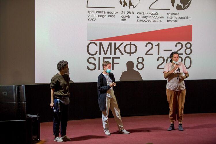 Кураторы мастерской, фото Максима Федорова