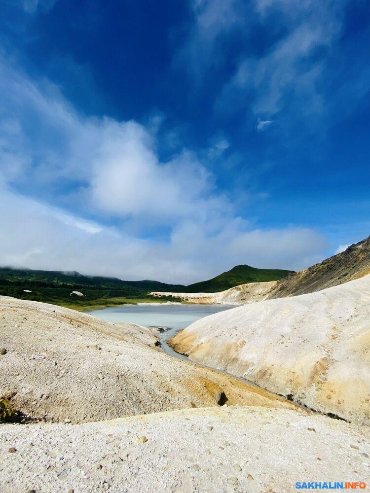 Кальдера вулкана Головнина, Кунашир