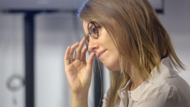 "Ксения Собчак, фото Максима Стулова, ""Ведомости"""