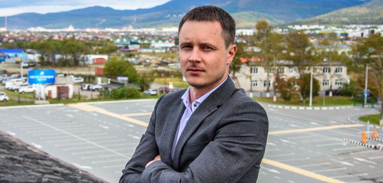 Александр Веклич, фото аэропорта Южно-Сахалинска