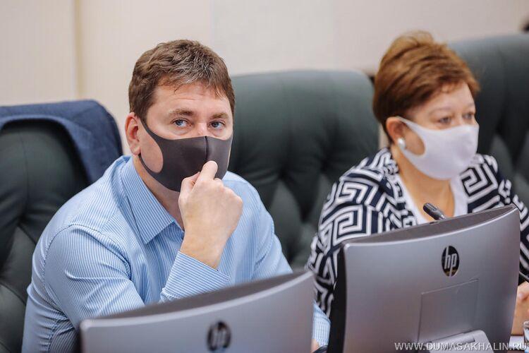 Максим Козлов, фото пресс-центра думы