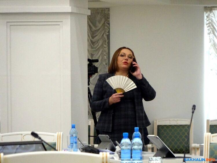 Министр ЖКХНаталия Куприна вперерыве