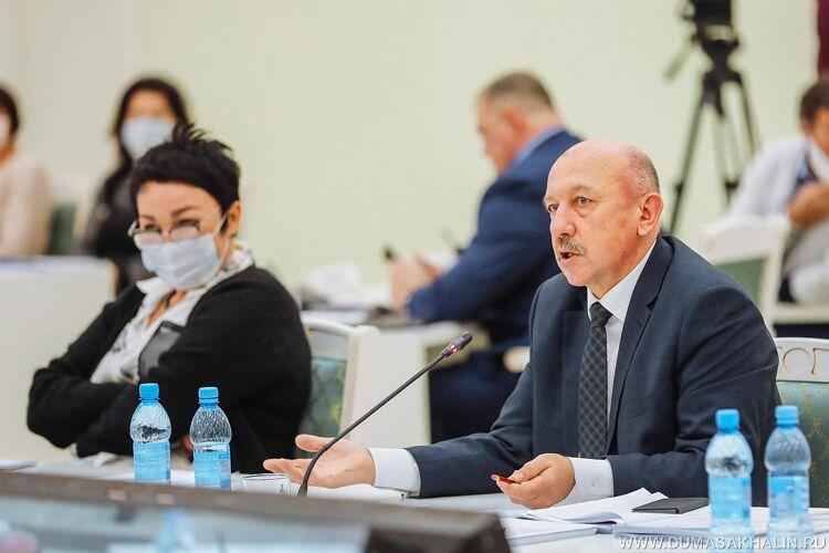 Александр Болотников, фото пресс-центра думы