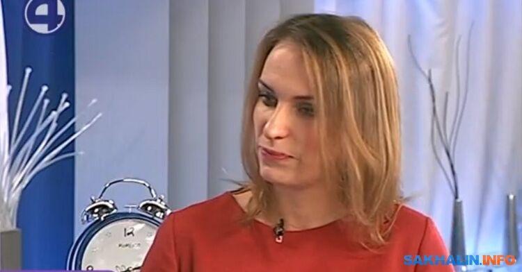 """Елена Сальник, скрин спрограммы """"Утренний экспресс"""", 2017 год"""
