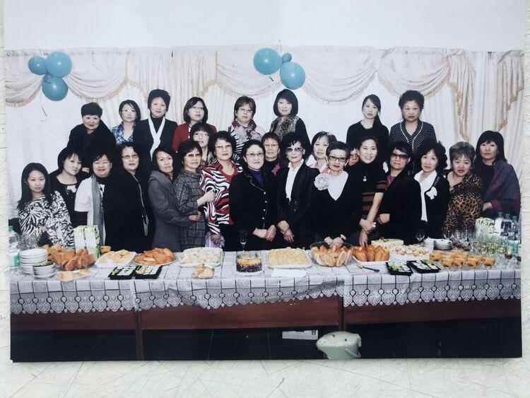 """Организация """"Сахалинские корейские женщины"""", 2012 год, архивная фотография"""
