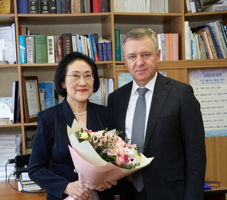 Сергей Надсадин и Светлана Ким