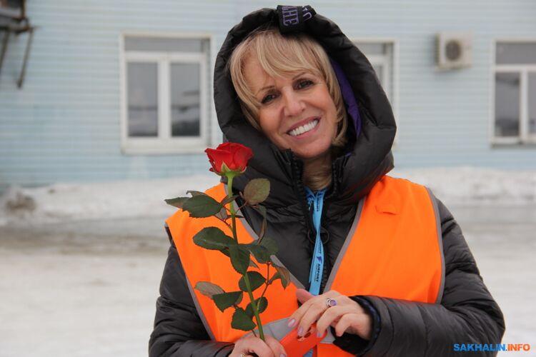 Руководитель пресс-центра аэропорта Марина Суетинова